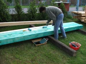 natieranie dreva na krov