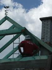 stavanie nového krovu