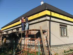 podbitie strechy - cetrisové dosky