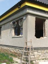 zväčšovanie otvorov na nové okná