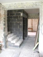 nové schody do podkrovia