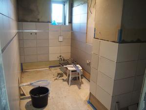 obkladanie kúpeľne