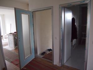 montujeme zárubne a dvere