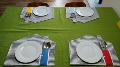 prestieranie na stole