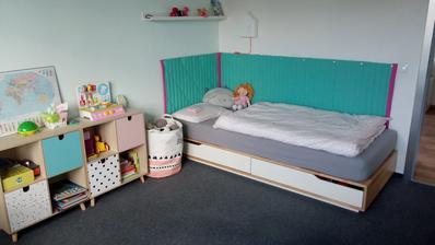 detská izba malej škôlkárky a prváka