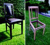 90 ročné stoličky - 6 ks,