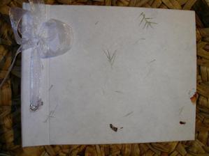 svatební kniha hostů - na přáníčka a vzkazy od svatebčanů