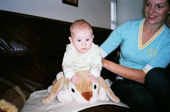 11/2005 Danuška s mamčou - tedy se mnou