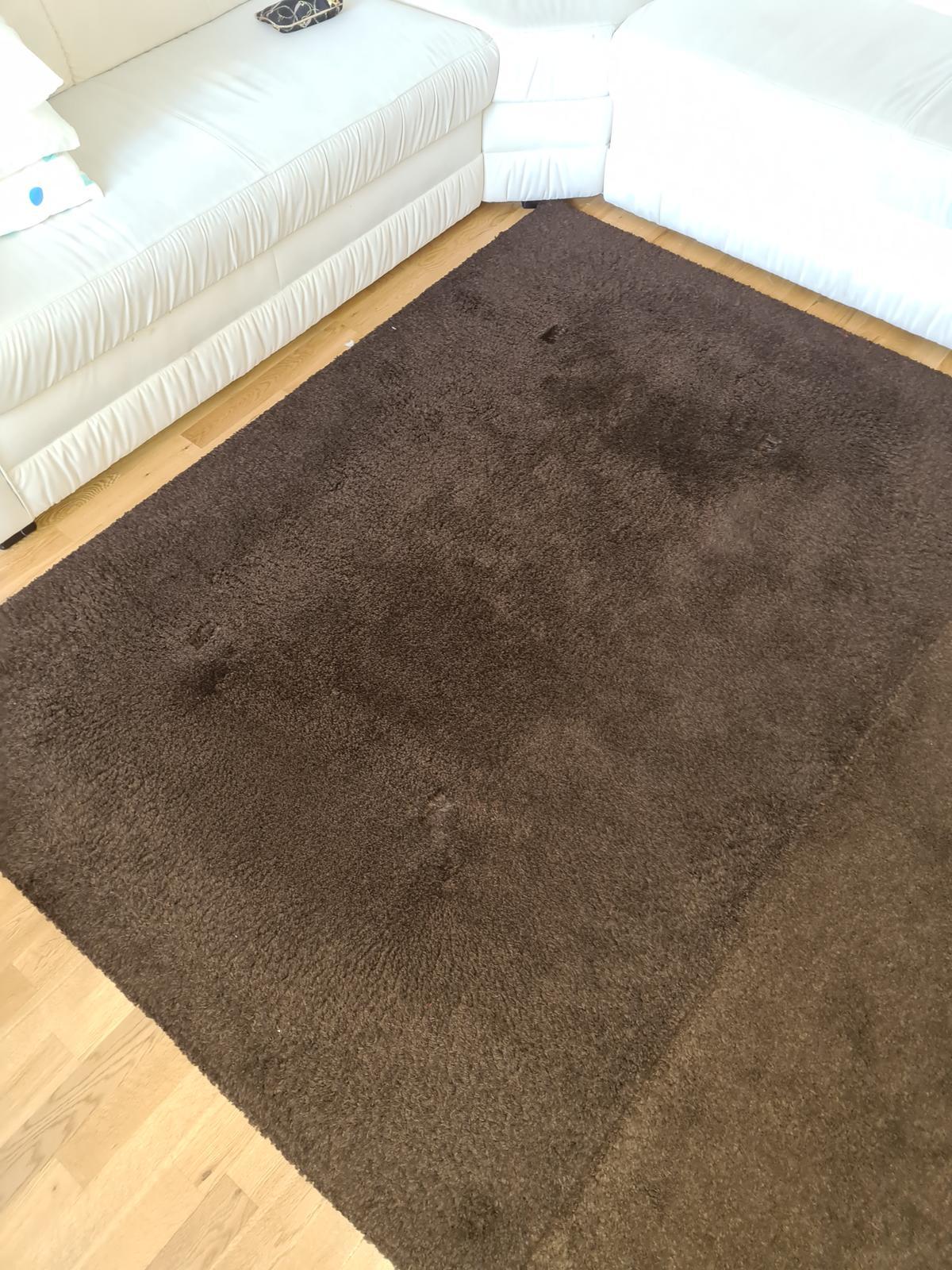 Adum koberec ikea 133x195 cm tmavohnedy - Obrázok č. 1
