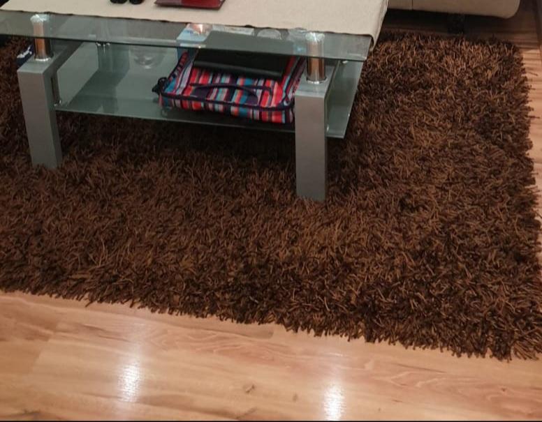 Luxusny koberec s vysokym lesklym vlasom - Obrázok č. 1