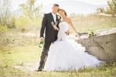 Luxusné svadobné šaty 36-40, 38