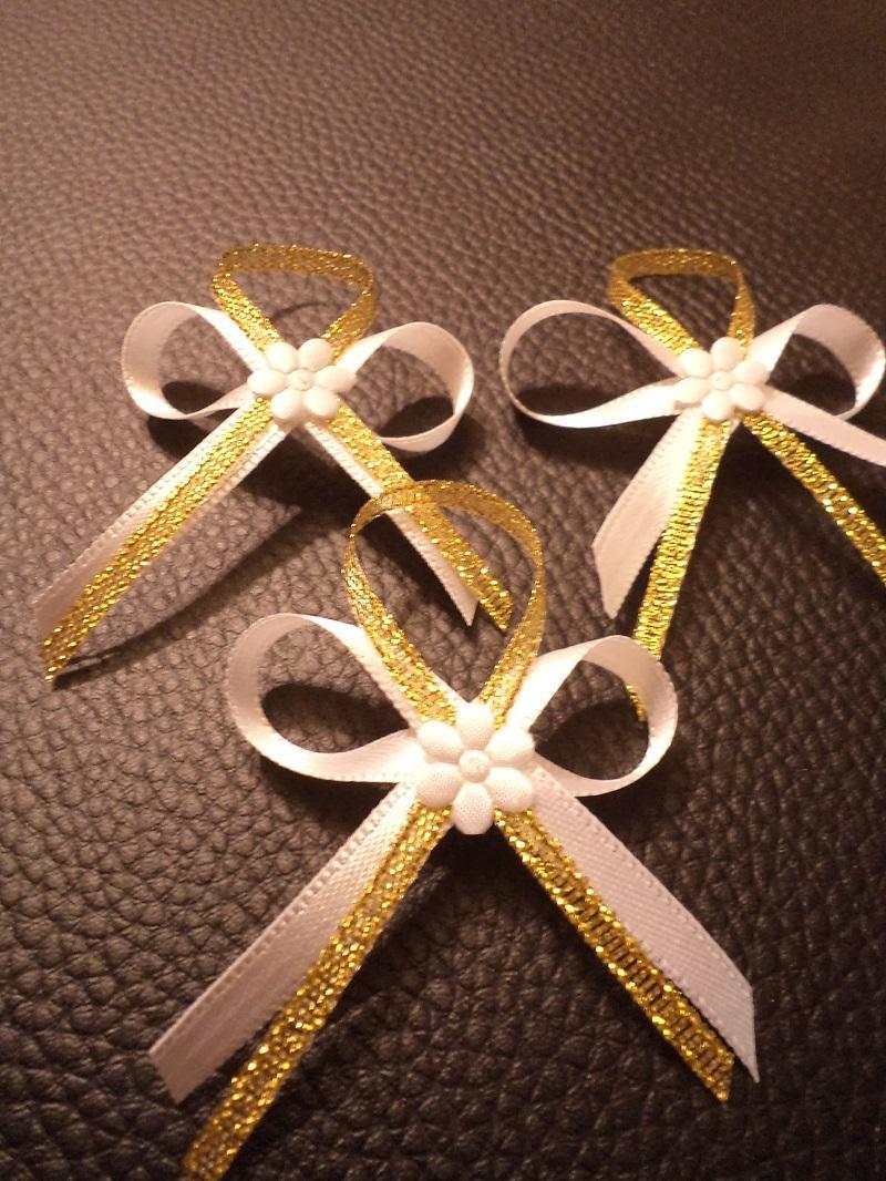 Svadobné pierka,zlaté - Obrázok č. 4