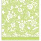 Luxusné obrúsky 40x40 cm netkaná textília zelená,