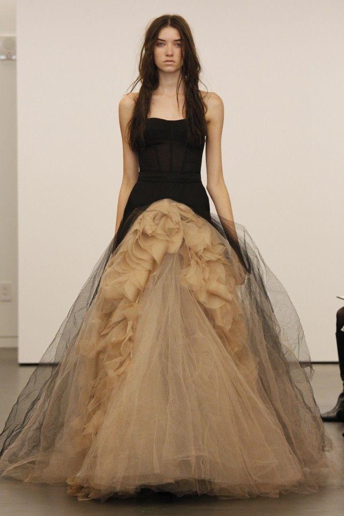 Inspirace - s nádechem glamour - vera wang