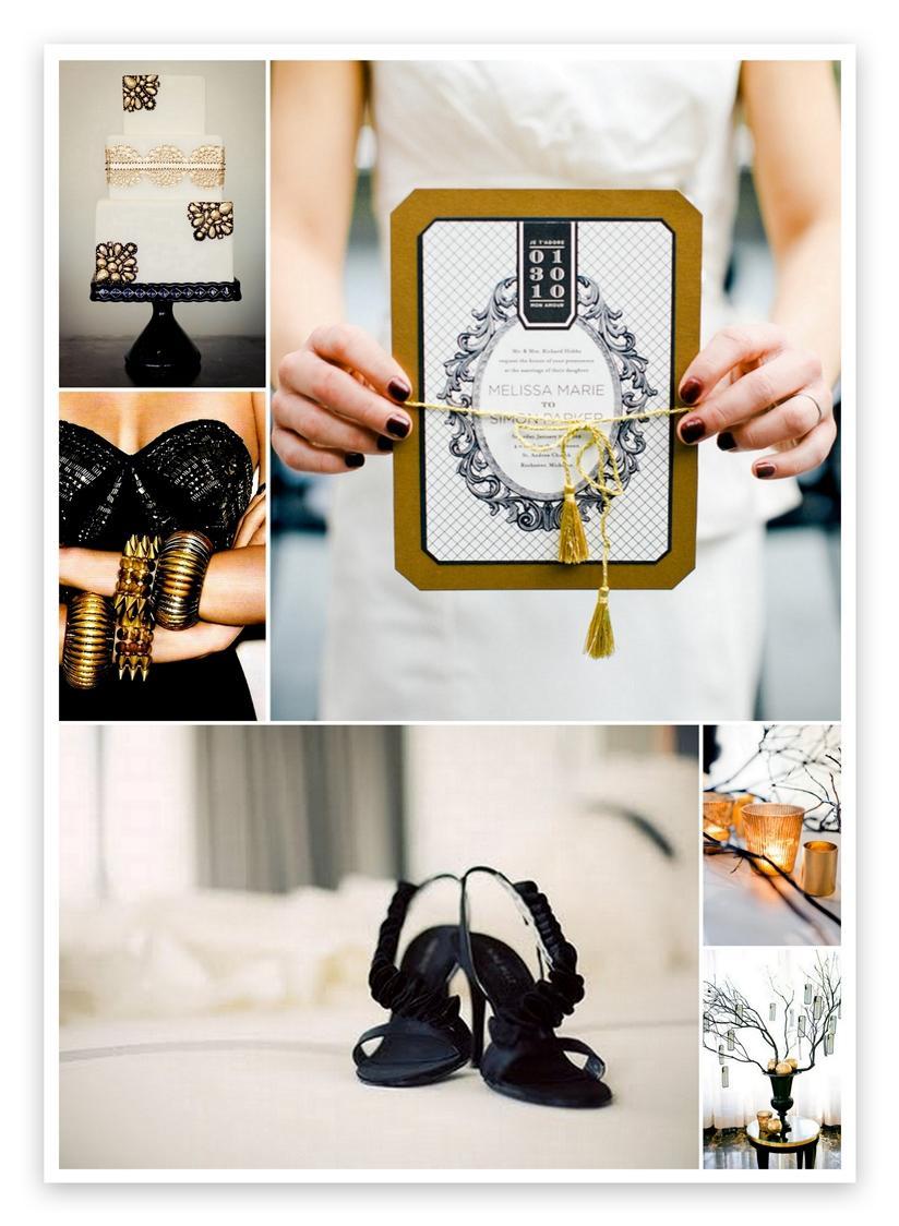 Inspirace - s nádechem glamour - Obrázek č. 9