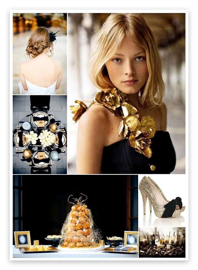 Inspirace - s nádechem glamour - Obrázek č. 20