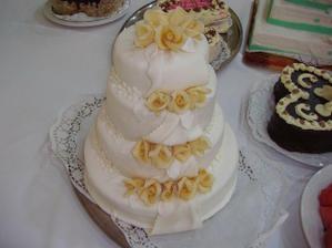 a nasa torticka na svadbe