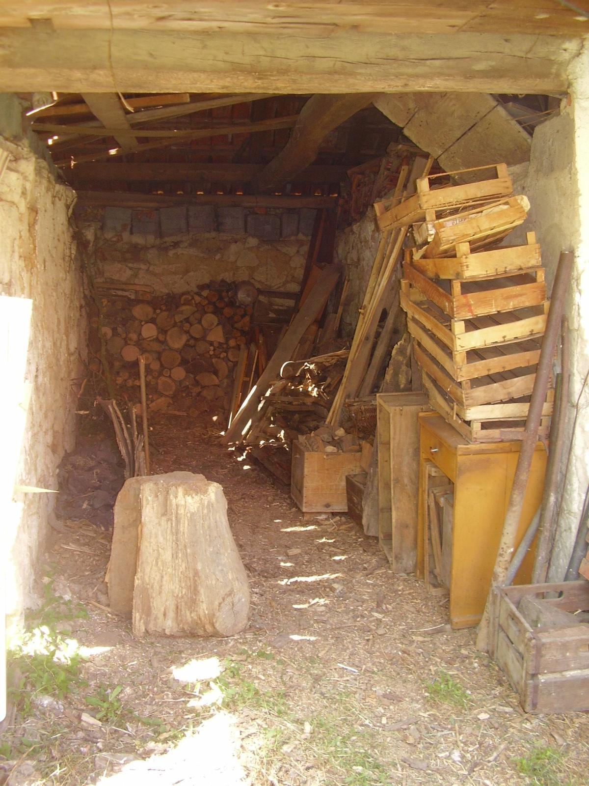 """Naša """"oddychovka"""" - uprataná dreváreň čaká na nové drevo"""