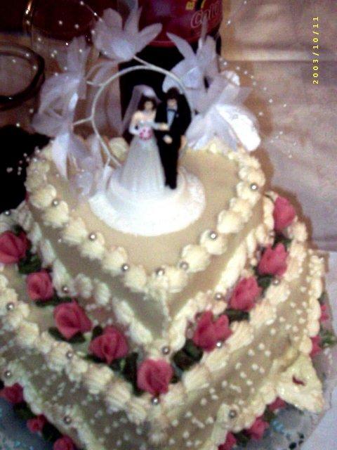 Anita{{_AND_}}Imrich - Torta od krstných rodičov