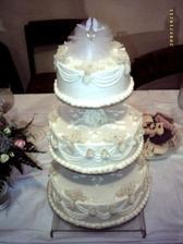 Naša hlavná svadobná torta