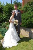 svadobné šaty značky DIVINA SPOSA, 36