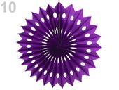 Kulatý závěsný květ,