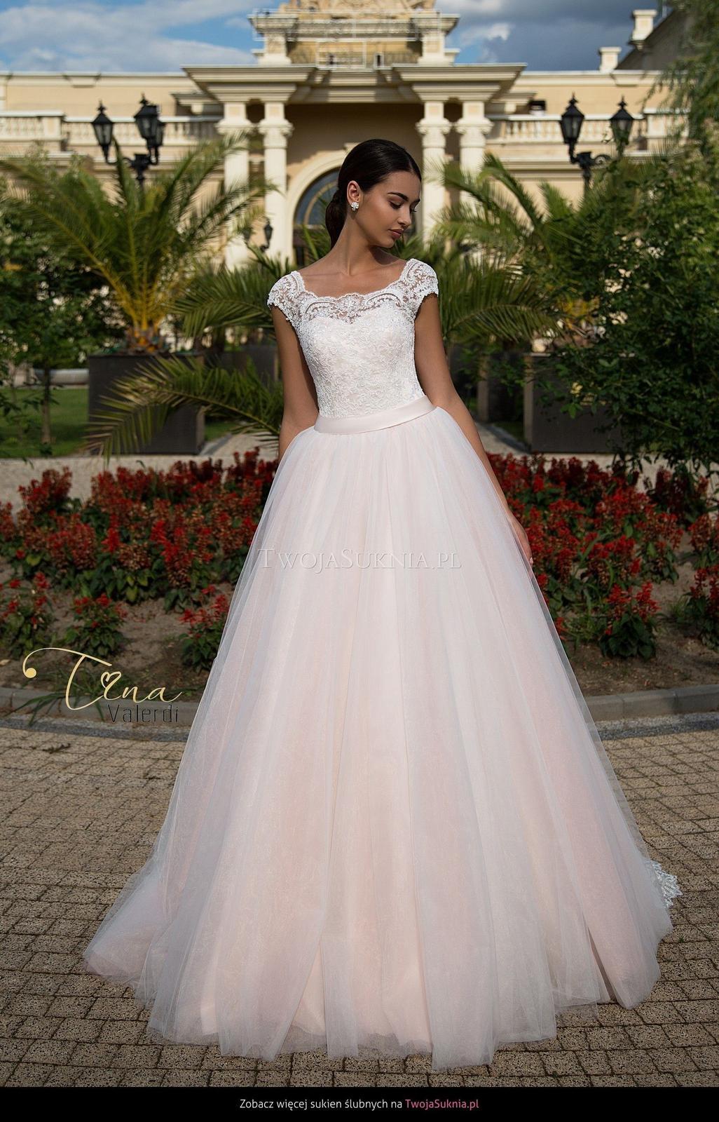 Šaty Tina Valerdi svetloružové  - Obrázok č. 3