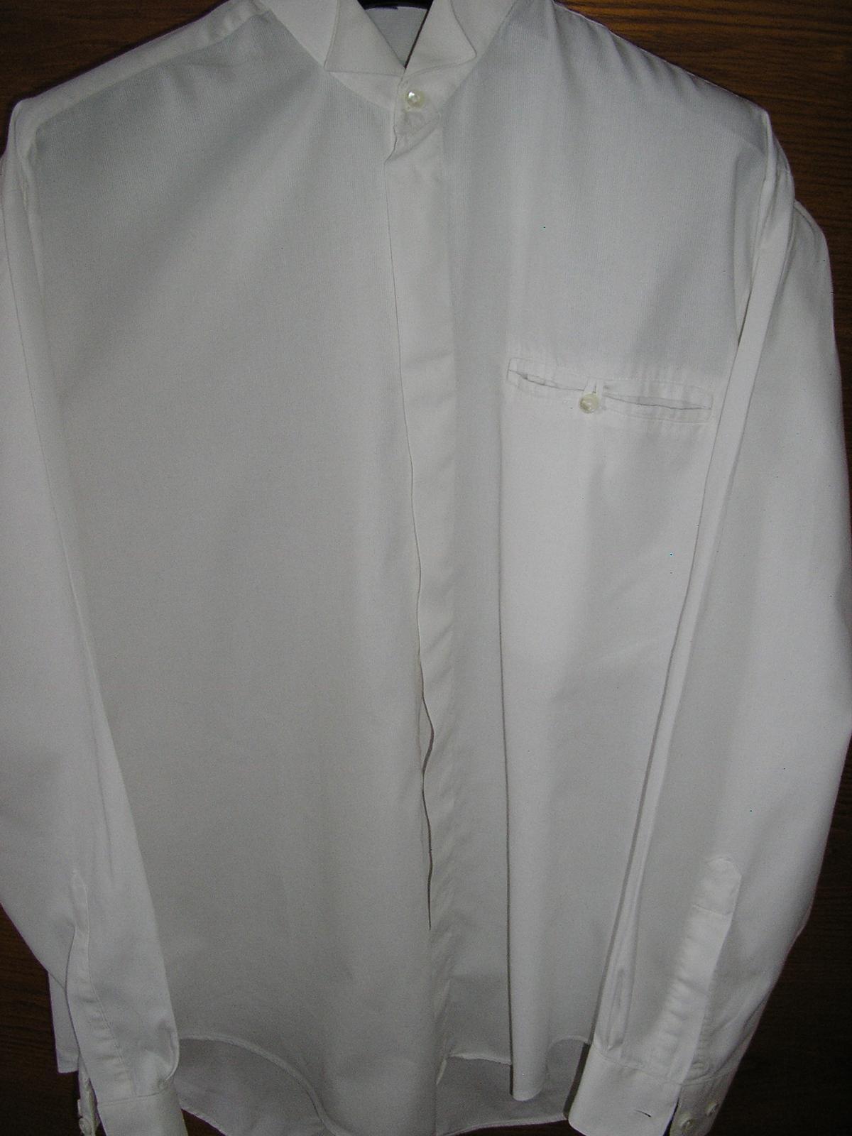 488. Spoločenská košeľa - Obrázok č. 1