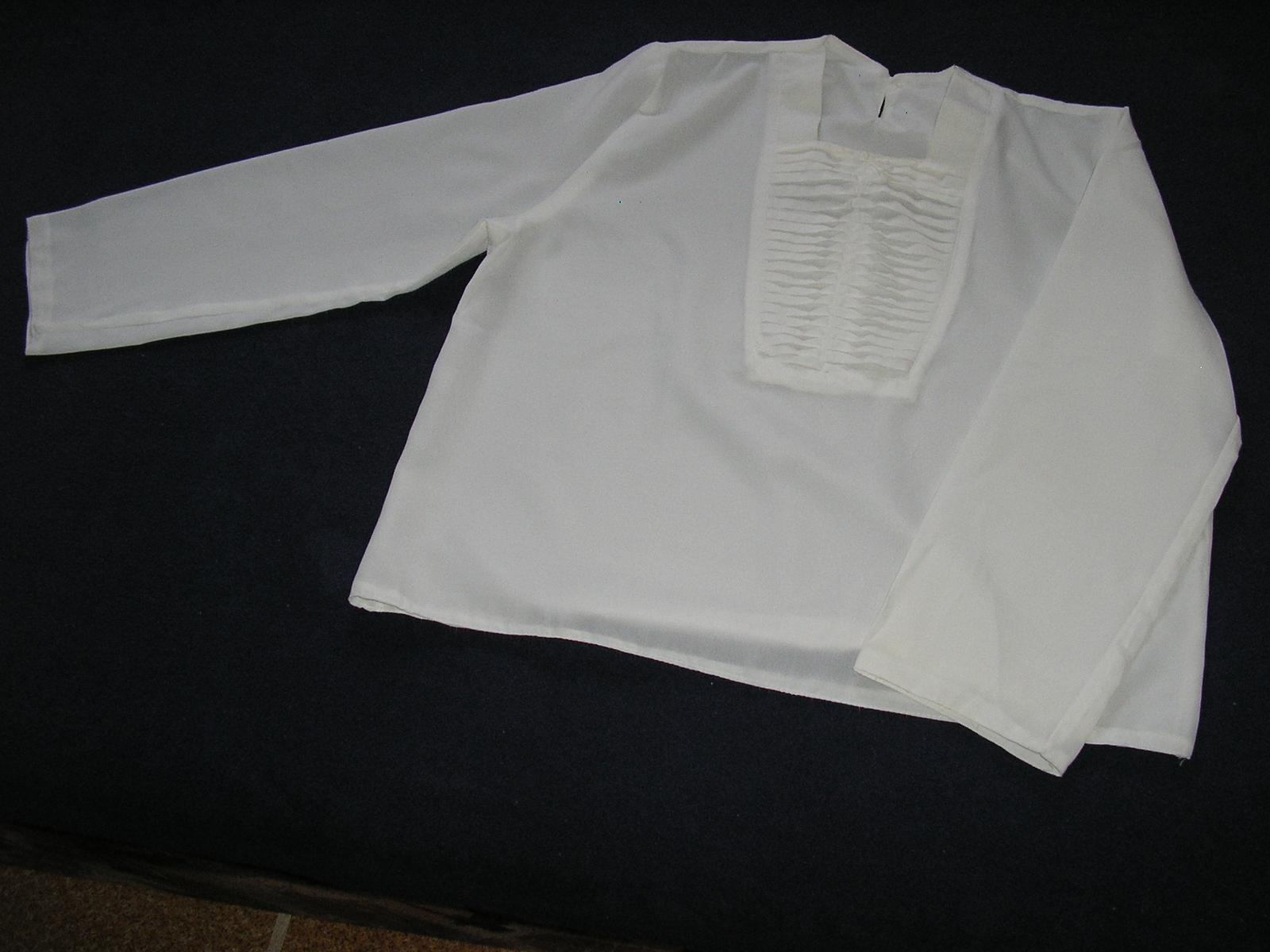 53. Biela blúzka  - Obrázok č. 1