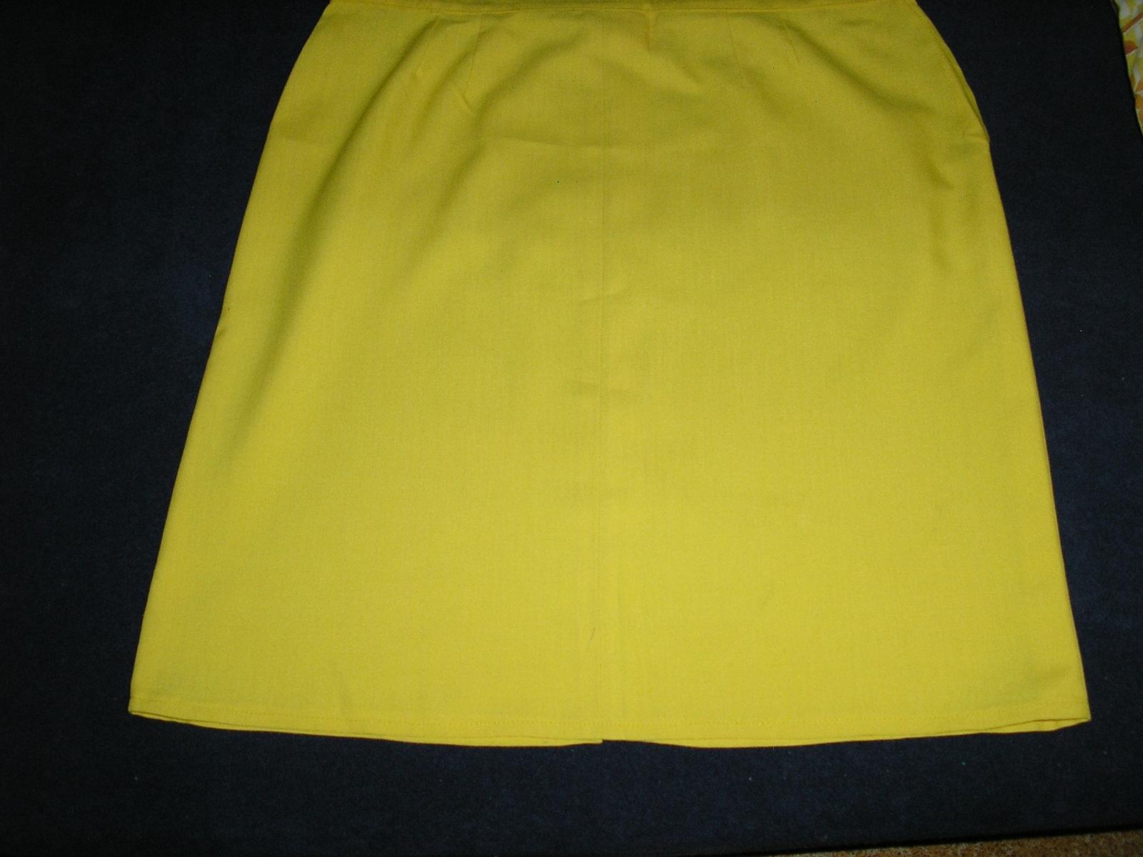 20. Žltá sukňa - Obrázok č. 1