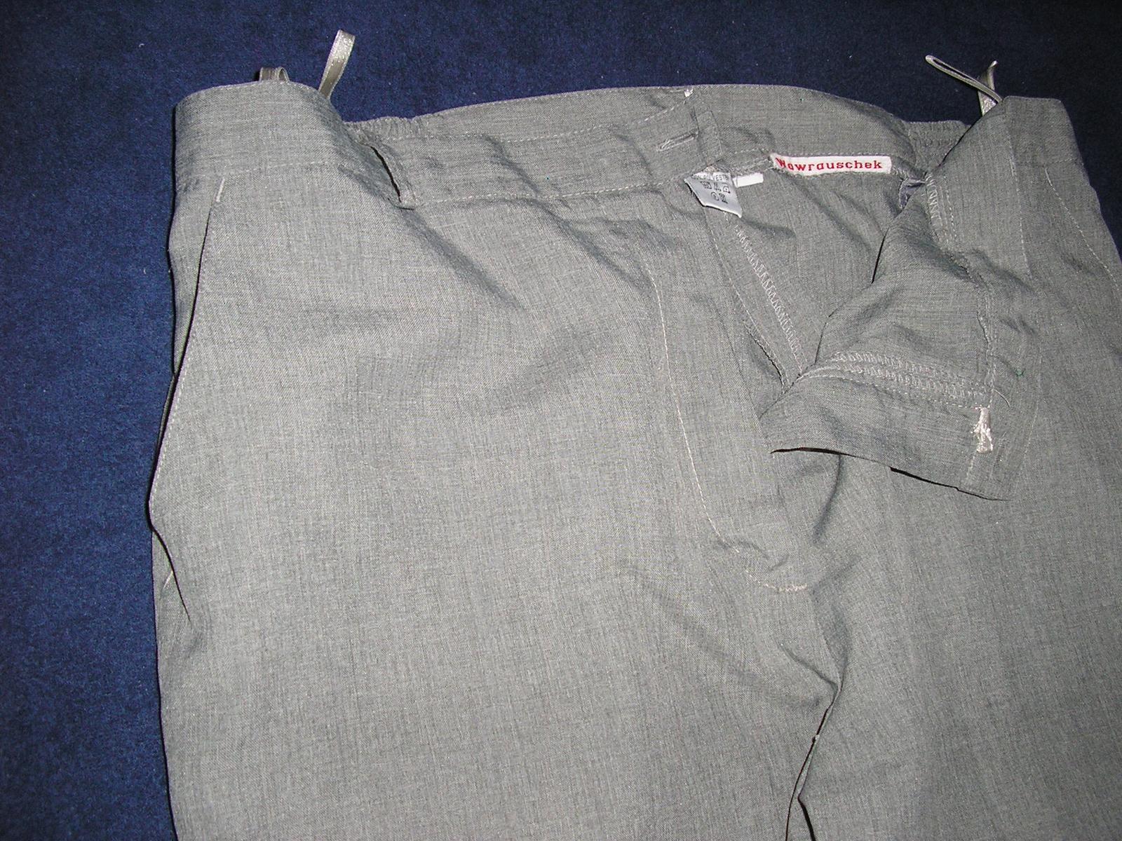685. Sivé eleg. nohavice      - Obrázok č. 1