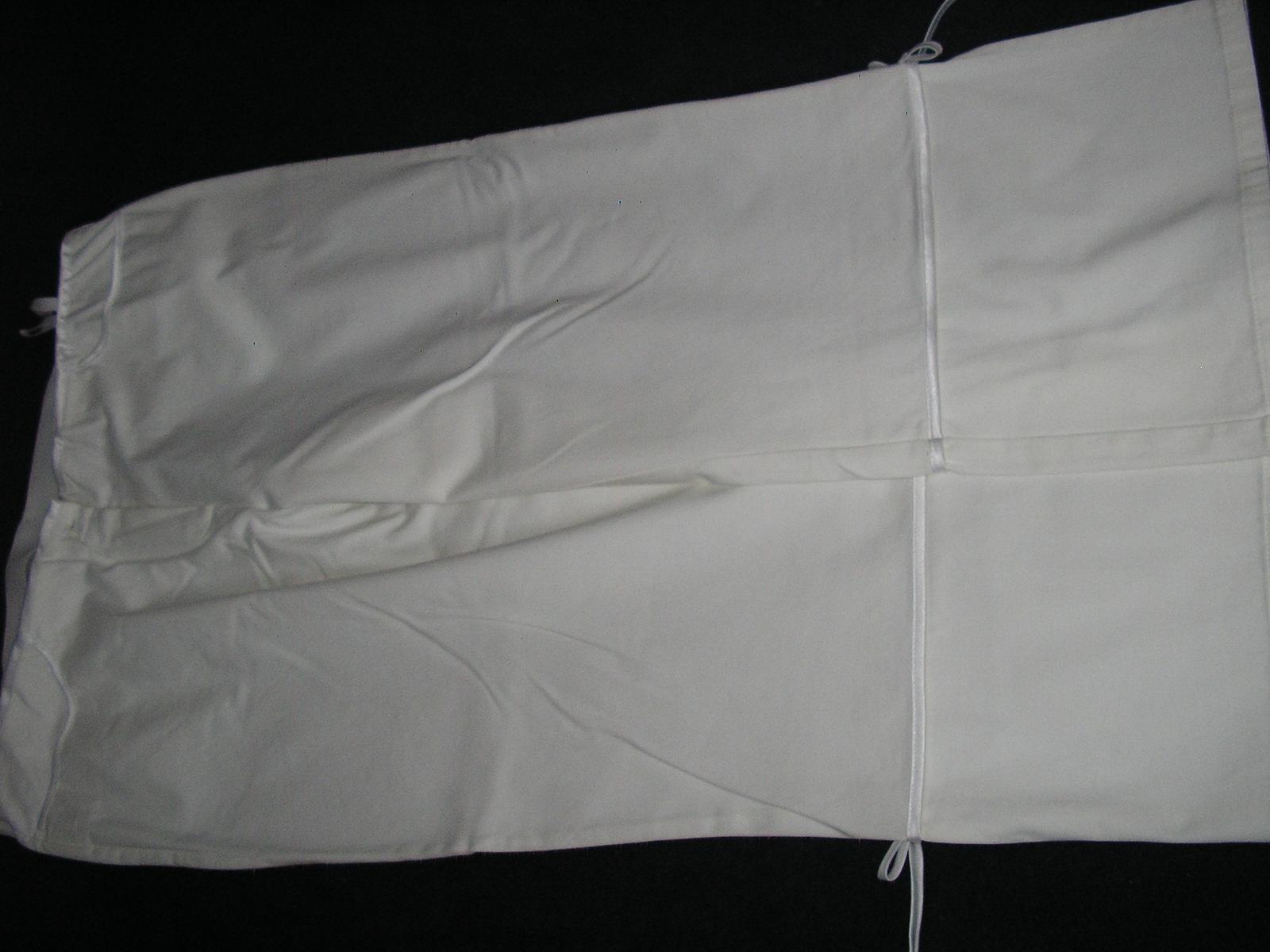 684. BONPRIX Biele nohavice     - Obrázok č. 1
