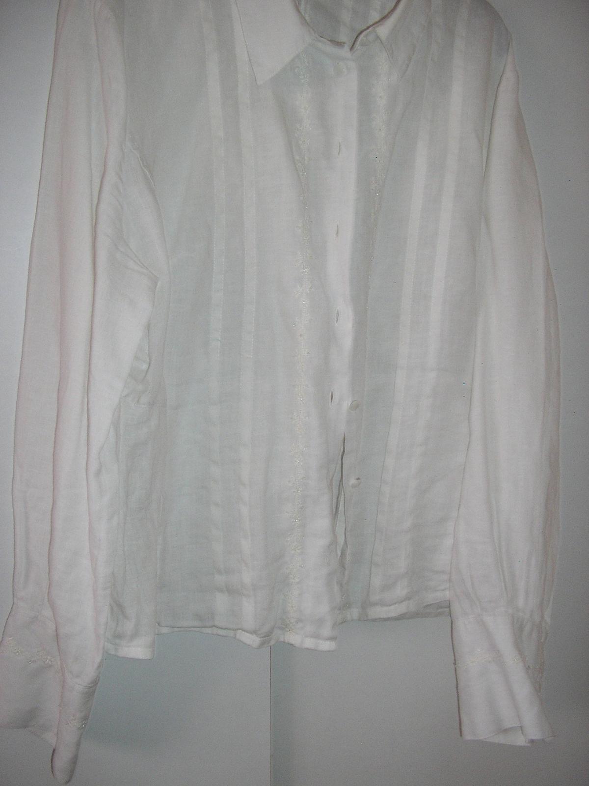 779.  Biela košeľa eleg. - Obrázok č. 1
