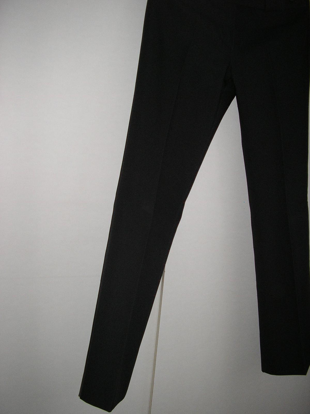 831. tm. sivé eleg. nohavice - Obrázok č. 1