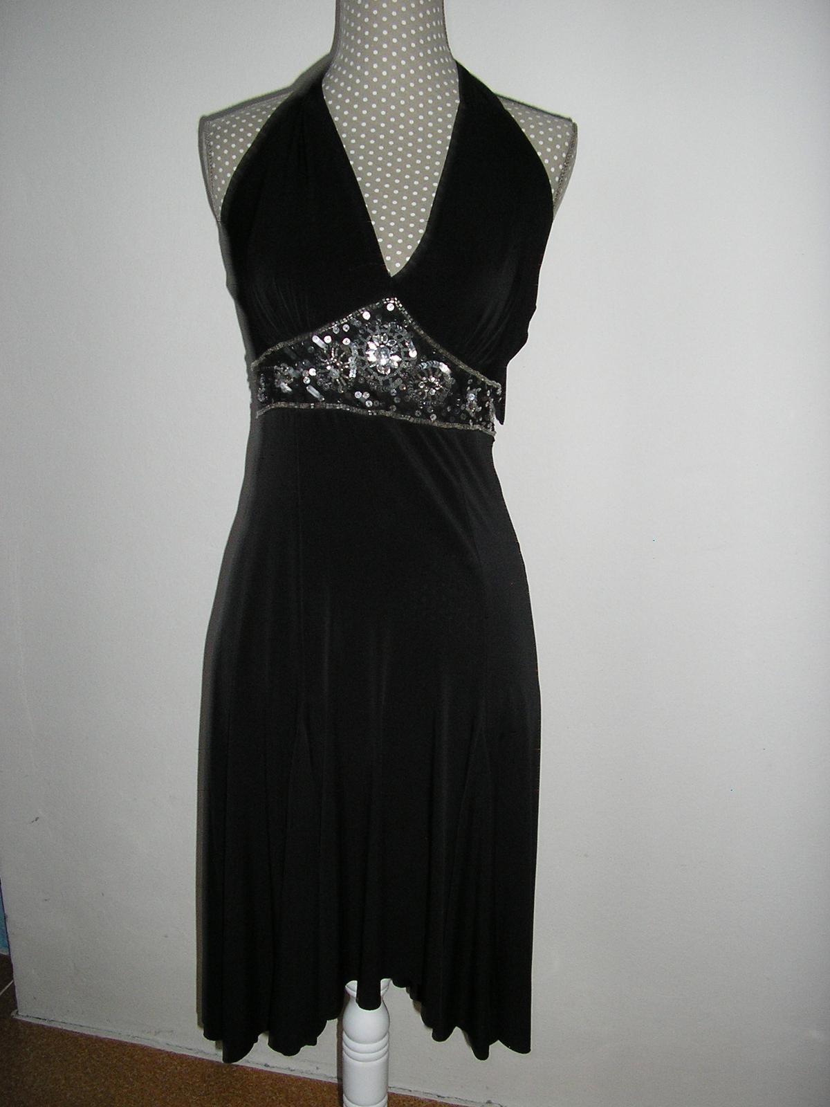 855. MK Čierne spol. šaty - Obrázok č. 1