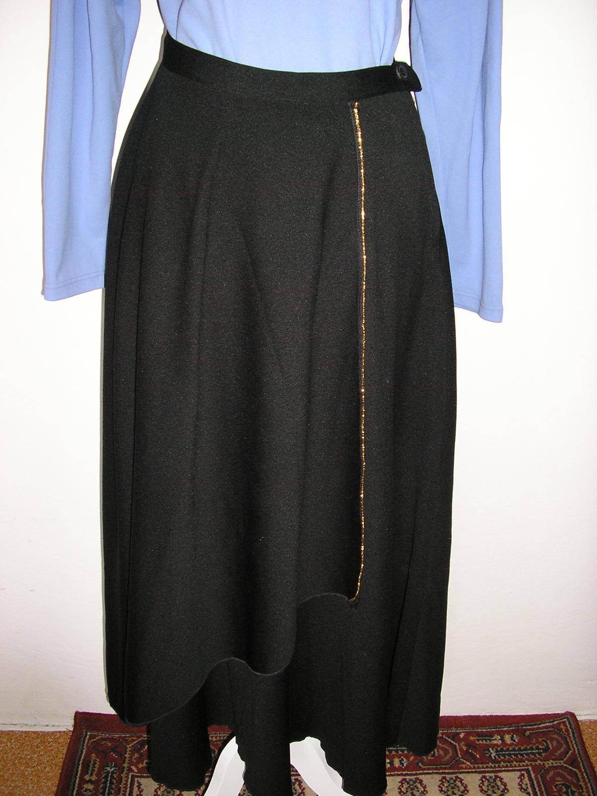 607. Dlhá spol. sukňa - Obrázok č. 1