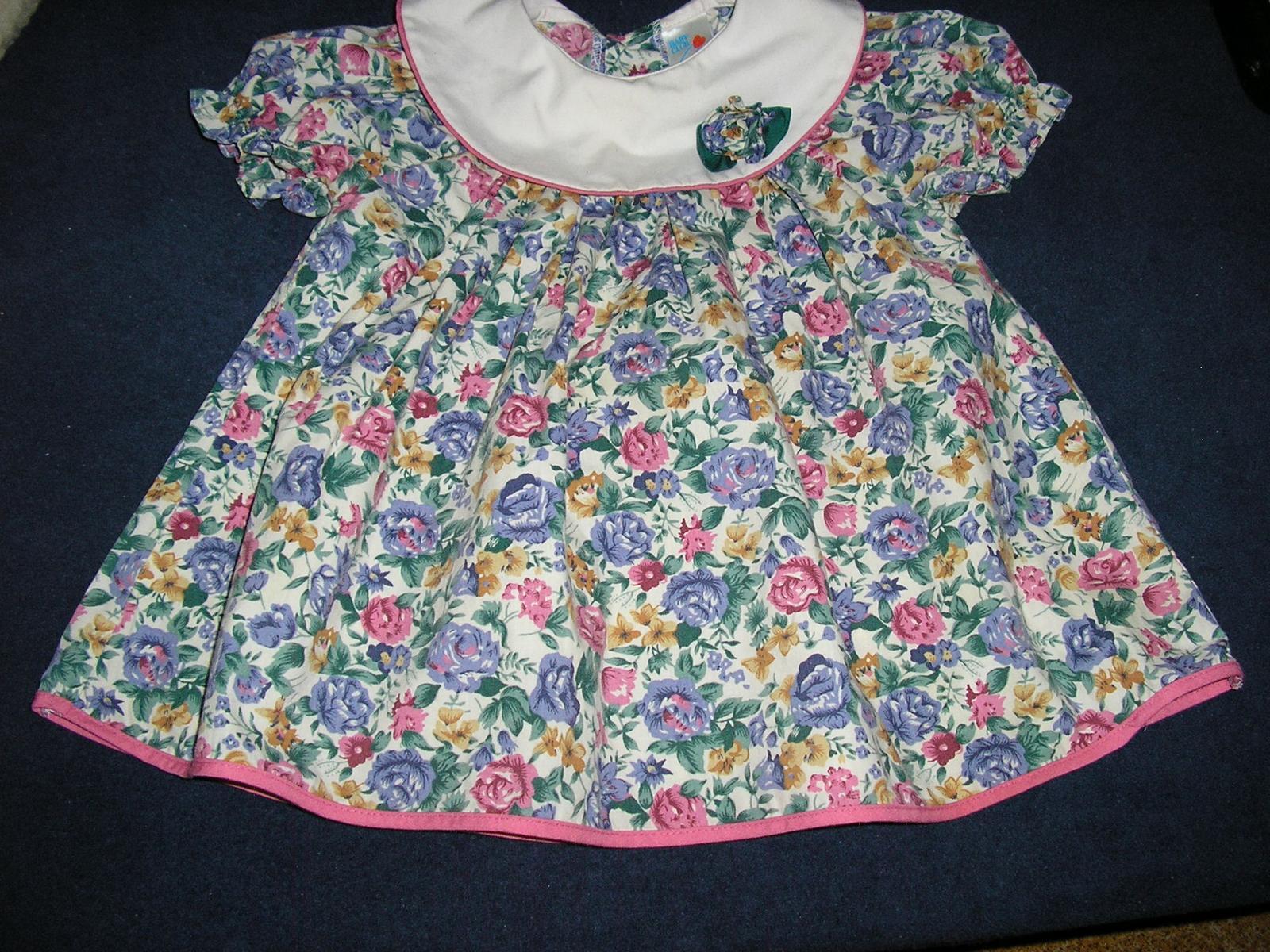 974.  Dievčenské šaty C&A  - Obrázok č. 2