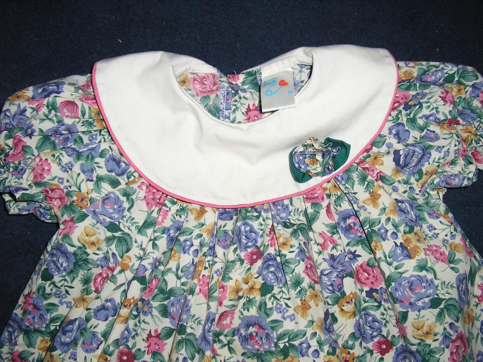974.  Dievčenské šaty C&A  - Obrázok č. 1