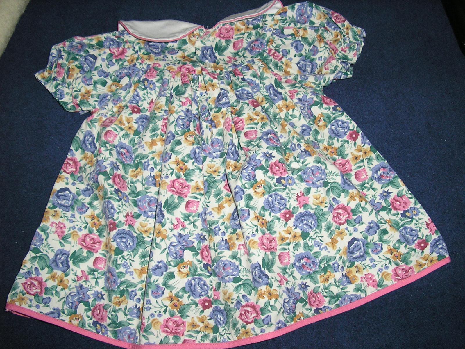 974.  Dievčenské šaty C&A  - Obrázok č. 3