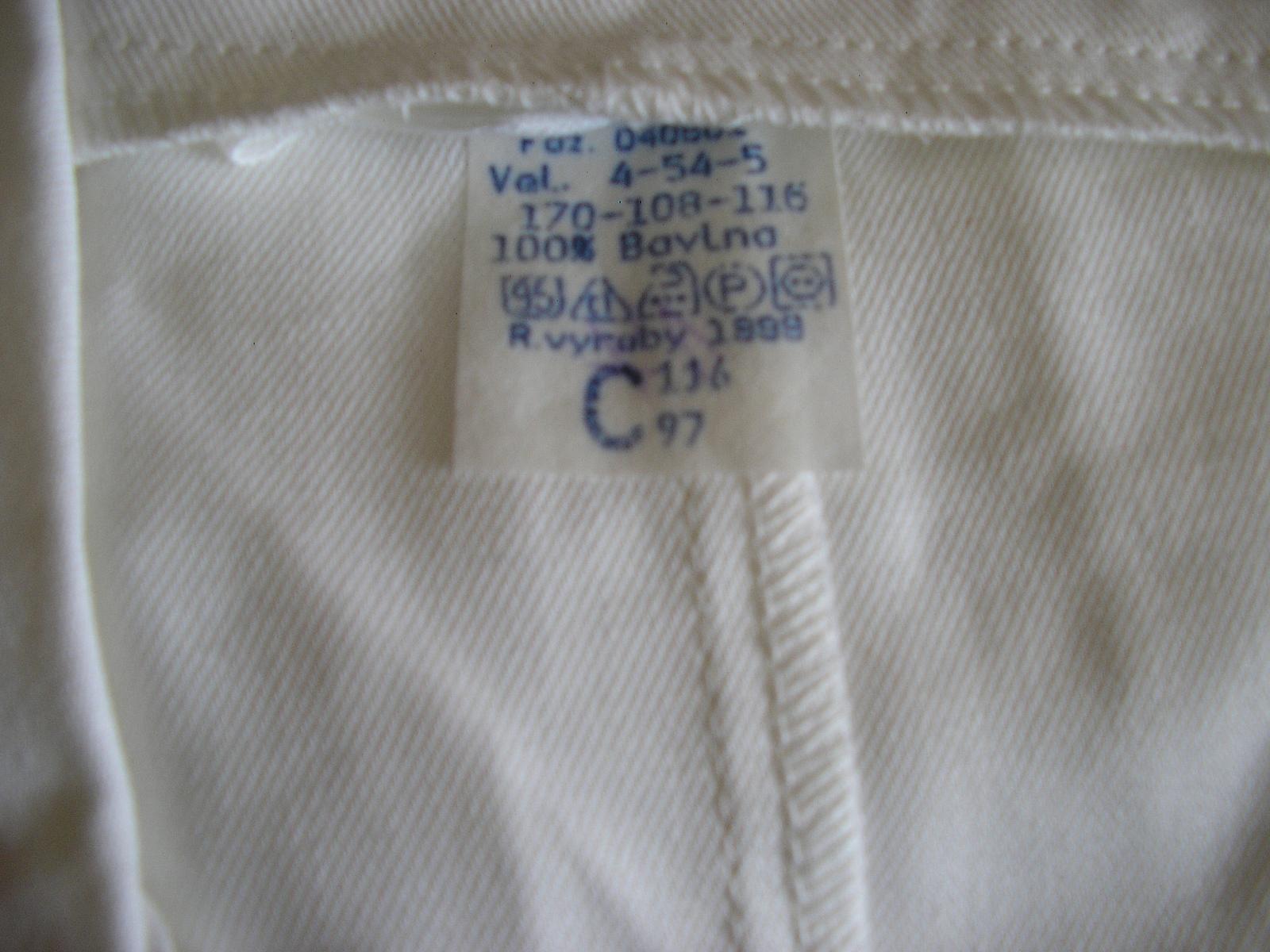 1202. Pracovný plášť nenos. č. 54 - Obrázok č. 2