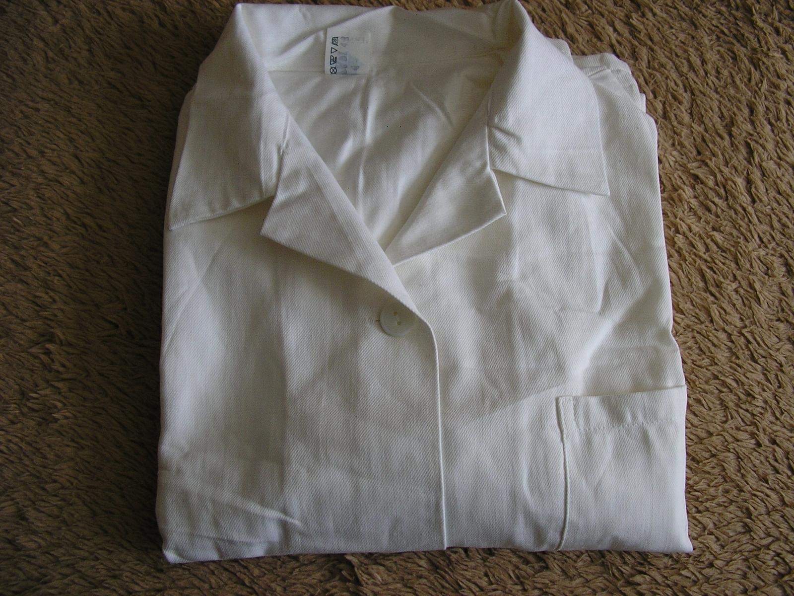 1203. Pracovný plášť nenos. č. 48 - Obrázok č. 1