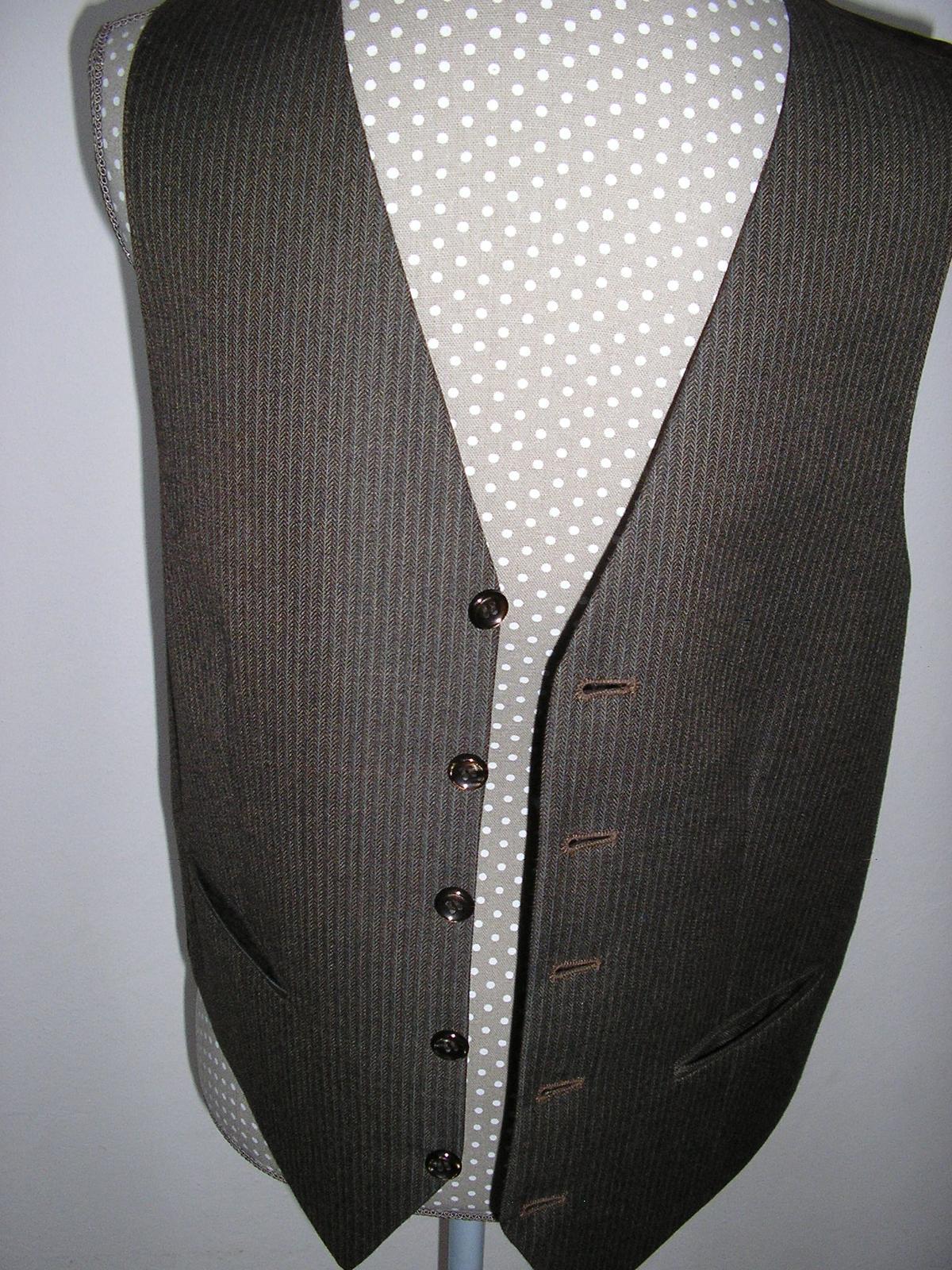 1210. Oblek pánsky - Obrázok č. 4