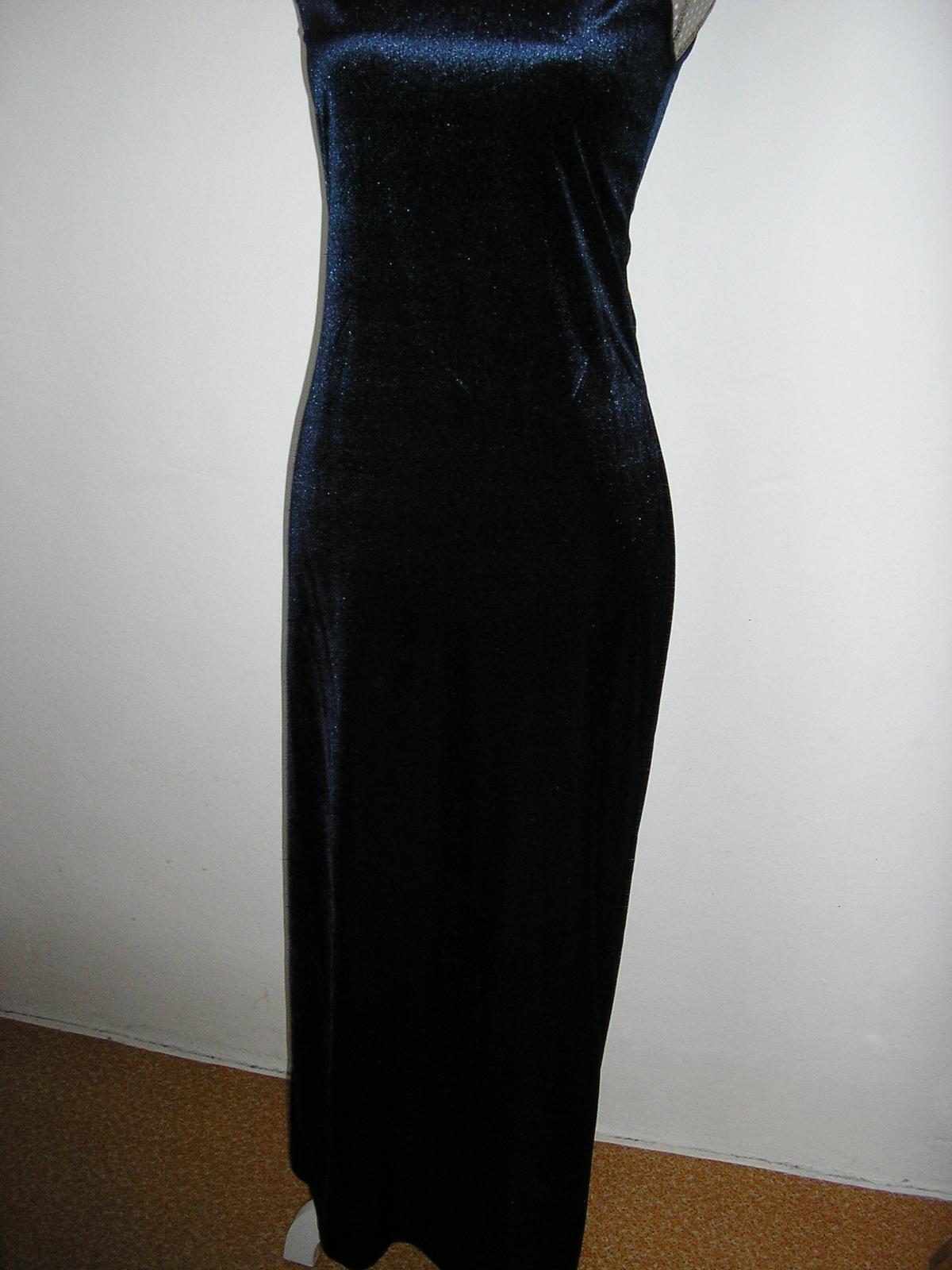 1257. Komplet dlhe šaty a vrch - Obrázok č. 2