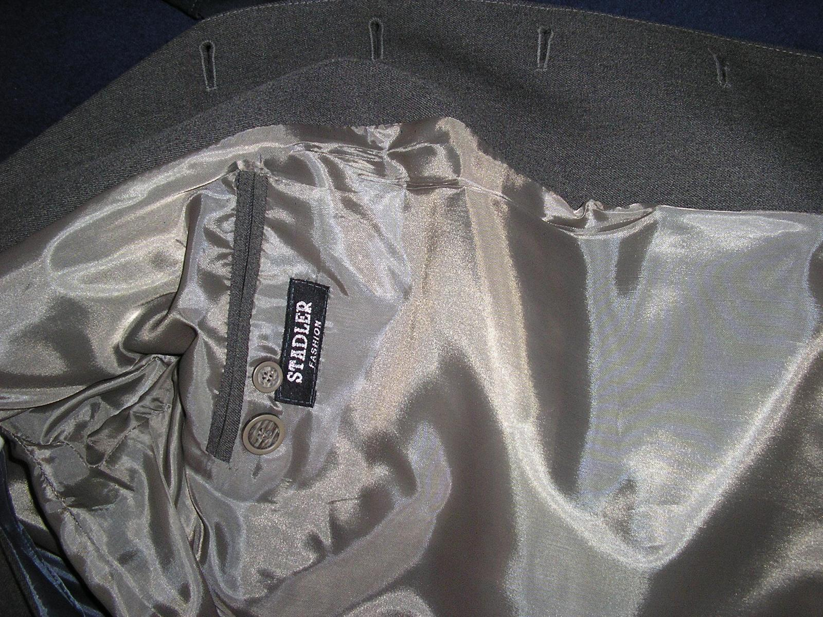 1291. Stadler Faschion sivý oblek - Obrázok č. 3