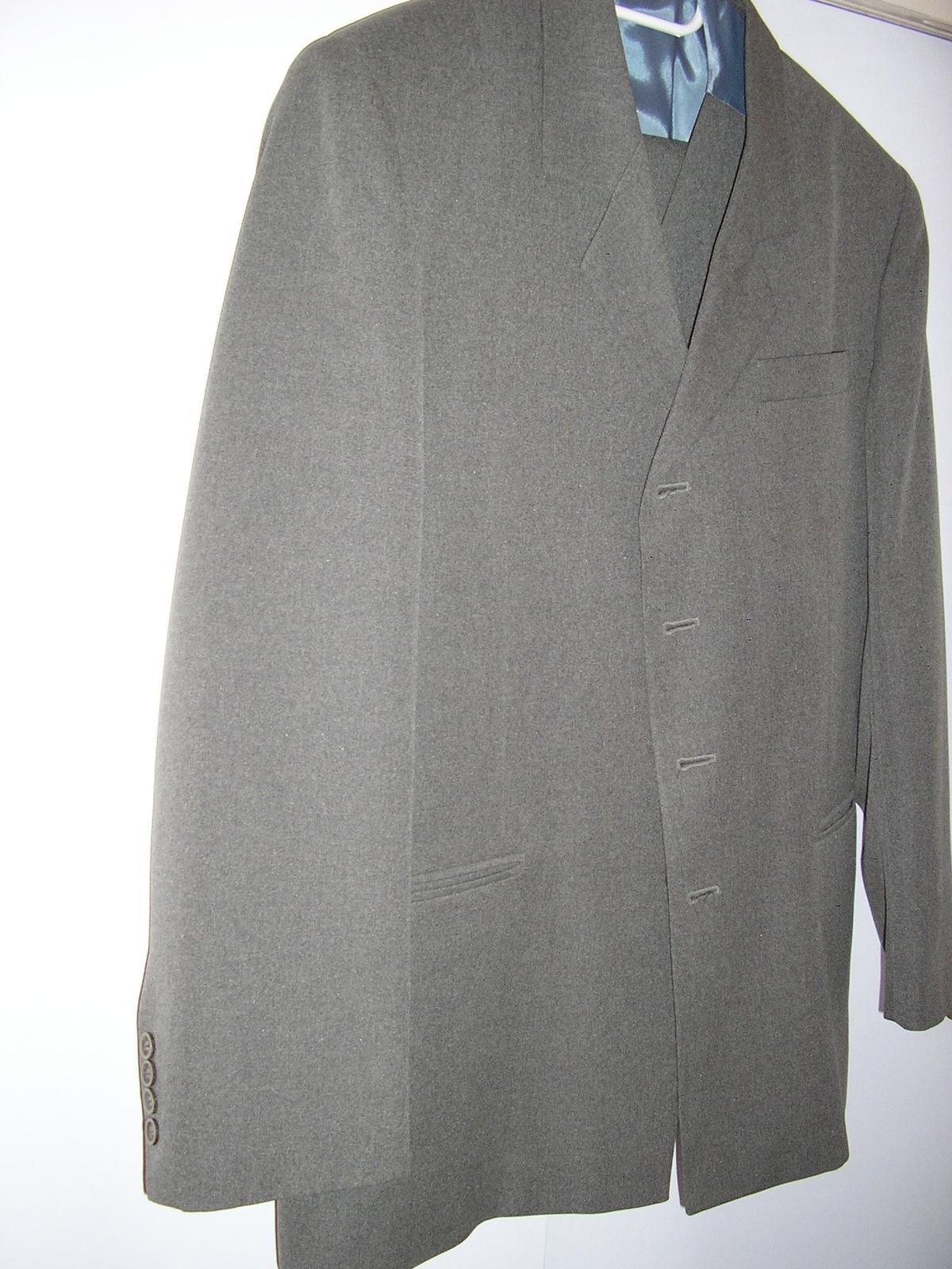 1291. Stadler Faschion sivý oblek - Obrázok č. 1