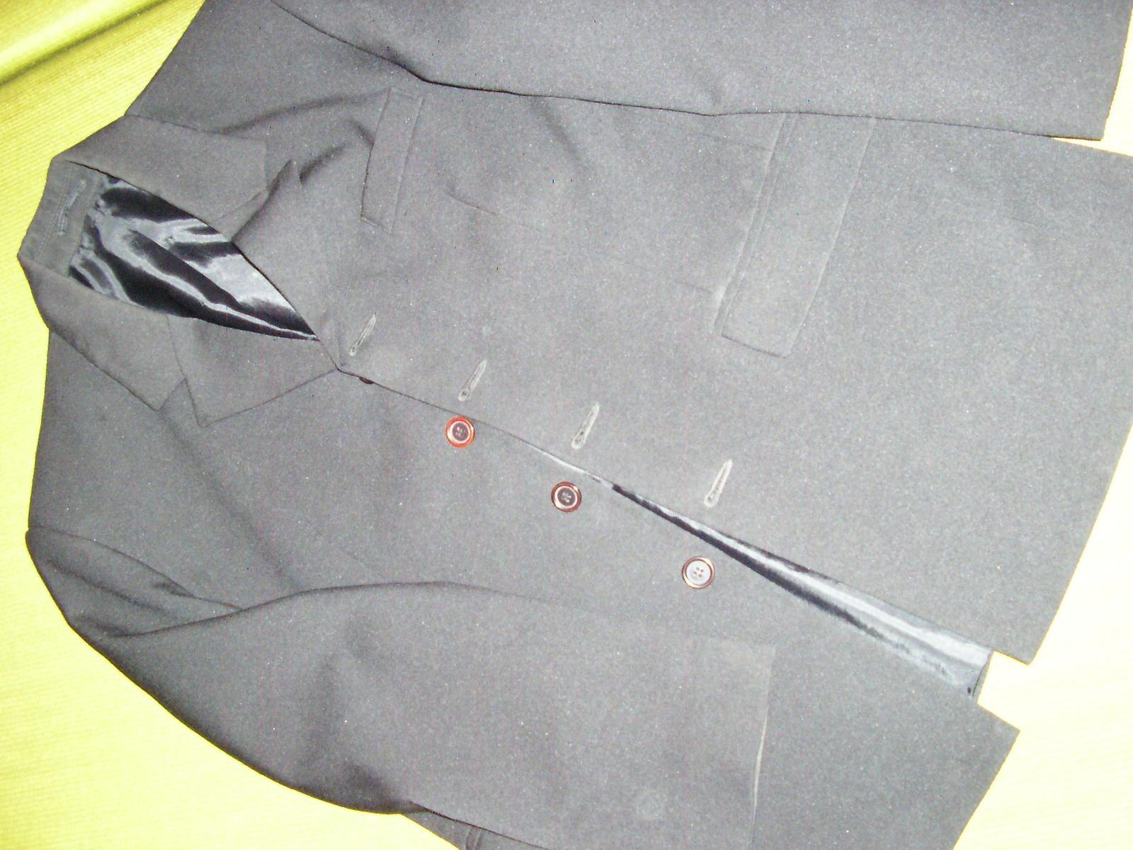 1293. Čierne sako - Obrázok č. 2