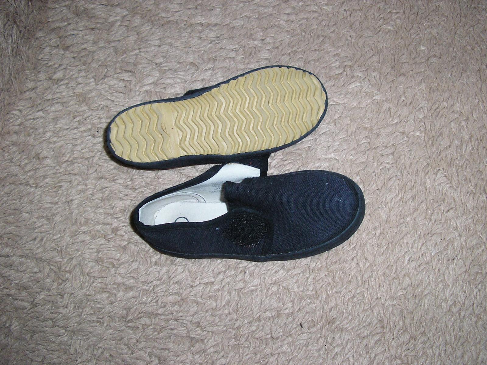 1315. Tm. modré platené topánky - Obrázok č. 2