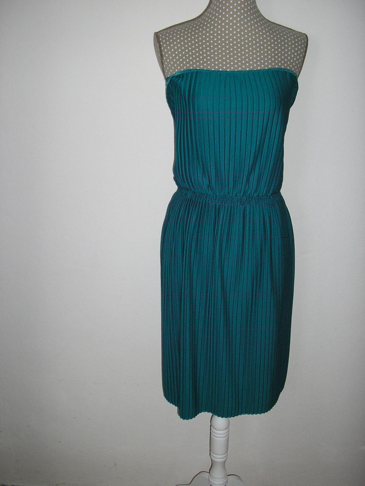 271. Tyrkysové šaty ASOS  - Obrázok č. 1