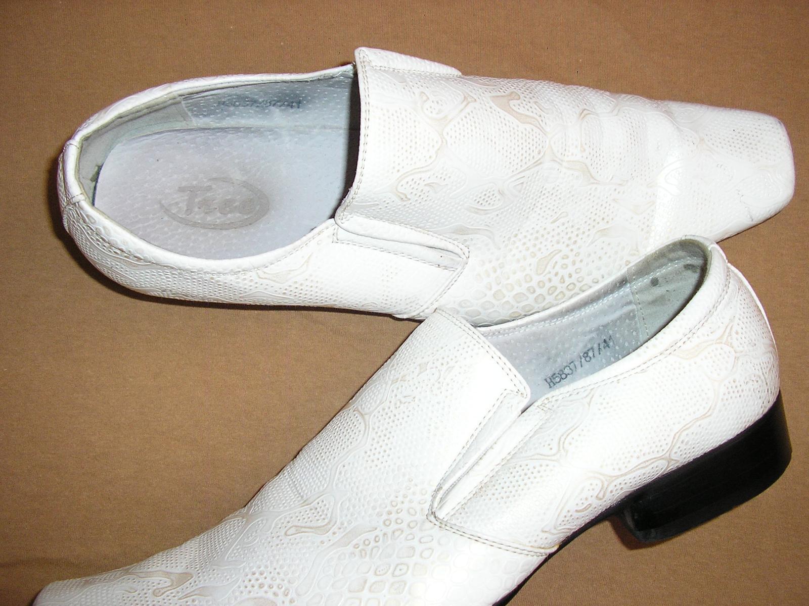 1524. TICO Pánske kož. topánky č. 41 - Obrázok č. 3