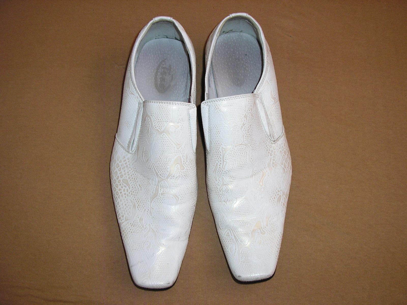1524. TICO Pánske kož. topánky č. 41 - Obrázok č. 1